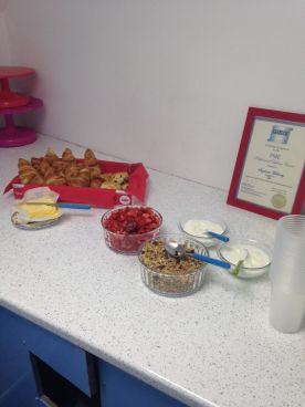 cakestress breakfast
