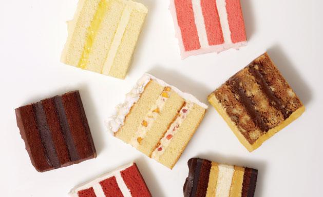 wedding cake tastings